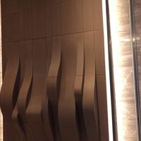 艺术弧形铝方通_木纹弧形铝方通