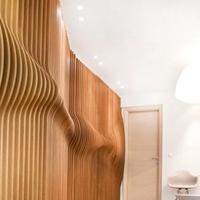 木纹弧形铝方通定制厂家