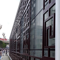 廣告牌古典鋁窗花鋁板鋁花格廠家