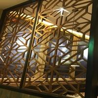 仿古门窗 木纹铝窗花、铝窗花厂家