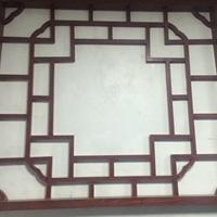 生產木紋鋁合金仿古型材鋁窗花