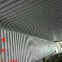学校幕墙铝方通_幕墙耐候氟碳漆铝方通