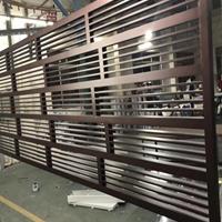 浙江省来图加工各种款式铝窗花厂家