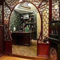 三明市工厂直销热转印木纹铝窗花格