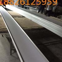 加油站罩棚天花铝扣板_300宽白色条形铝板