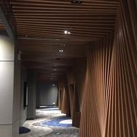 艺术弧形铝格栅方通厂家~广东德普龙建材