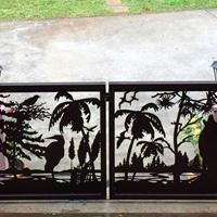 厂家定制生产销售雕花铝板 镂空铝板