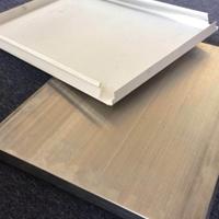 加油站罩棚隔热防风铝合金白色条形扣板