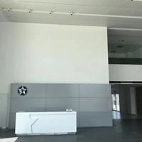启辰展厅柳叶孔镀锌钢板天花吊顶