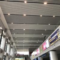 高铁站吊顶铝方通 白色铝方通天花 厂家直销
