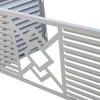 铝合金空调外机防尘罩装潢稳固耐牢