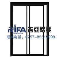 吉亚铝业40窄边框推拉门铝材生产厂家