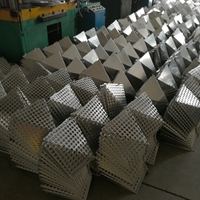 模具成型锥形穿孔铝幕墙板外型吊顶铝单板
