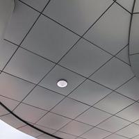 2.0mm氟碳铝单板 屋檐瓦楞铝单板定制