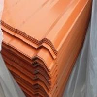 1.4mm厚的彩涂瓦楞铝板生产加工