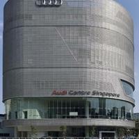 奧迪4S店幕墻裝飾長城網板 凹凸鋁板