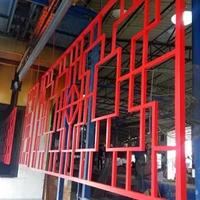 木纹铝窗花护栏