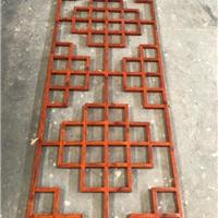 仿木铝合金花格-中式铝合金花格-花格定制