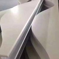 白色喷涂波浪形铝方通定制厂家