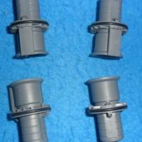 瓦格纳喷枪Wagne喷粉部件电极针水平粉管