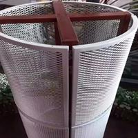 定制柱体装饰铝板天花 包柱铝单板生产厂家