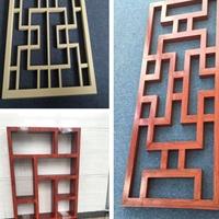 焊接鋁窗花 木紋鋁窗花廠家直銷