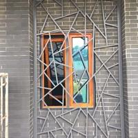 北京门头木纹铝挂落装饰工艺