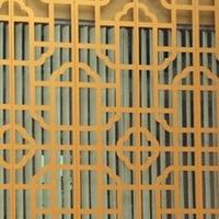 餐厅铝合金花格 隔断铝花格 铝花格厂家