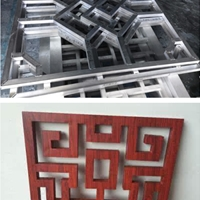香港室内木纹铝挂落装饰工艺