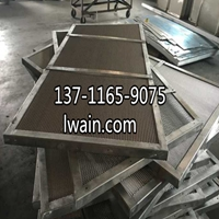 广州勾通式铝网板厂家 喷喷鼻槟金网板厂家
