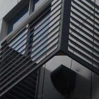 常德外墙氟碳铝空调外机防尘罩价格