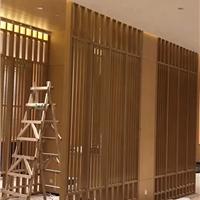 商務樓走廊木紋鋁方通天花吊頂