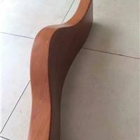 木纹拉弯铝方管大量生产