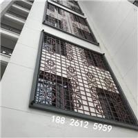文化广场中式铝花格生产厂家