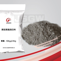 高铝高强耐磨浇注料供应