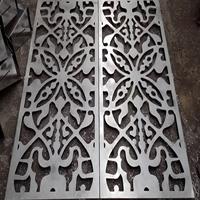 铝合金花格铝合金复古铝窗花厂家