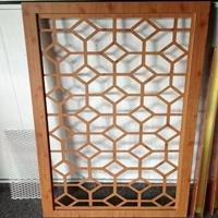 复古铝窗花 木纹铝窗花 厂家价格