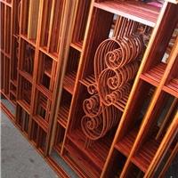 德普龙厂家生产仿木纹铝窗花-装饰铝花格