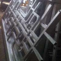 仿木古式铝屏风_木纹铝屏风生产厂家