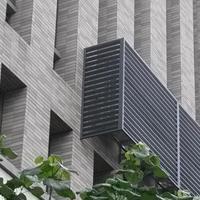 铝合金灰色空调外机掩护罩环保装潢