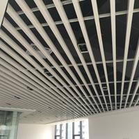 吊顶铝方通 学校走廊吊顶 u型铝方通
