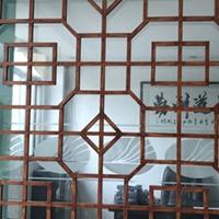 仿木纹铝合金花格,窗户防盗铝窗花
