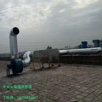 化工厂房通风排烟管道安装选振东