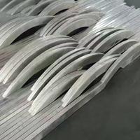 郑州氟碳波浪形铝方通装饰天花