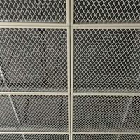 天花吊顶网格板 金属装饰网板