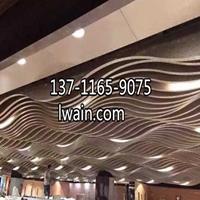 三亚木纹铝单板厂家 木纹铝垂片吊顶