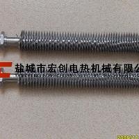 供应U型不锈钢翅片空气干烧电热管