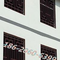 新农村外墙门窗花-铝合金防盗窗-仿古花格