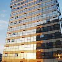 外墙门窗钢结构玻璃幕墙设计安装航鸿幕墙