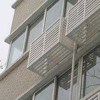 鋁制空調外機保護罩供貨廠家